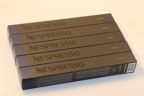 Nespresso -kazaar-pack 50 capsules...