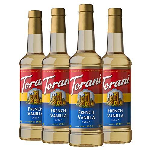 Torani Syrup, French Vanilla, 25.4...