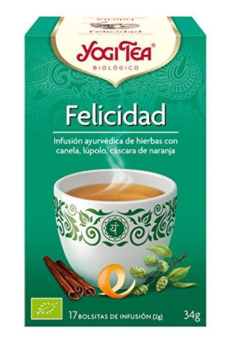 Yogi Tea - Felicidad, Infusión...