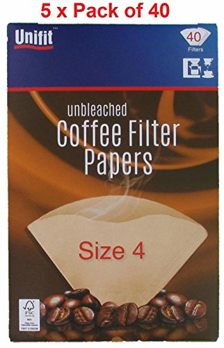Papeles de filtro de café...