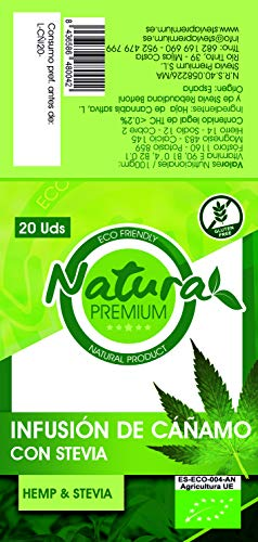 Natura Premium Cáñamo - Infusion...