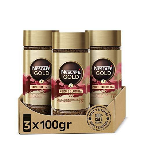 Nescafé GOLD PURO COLOMBIA aroma y...