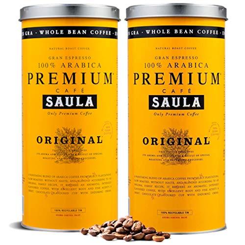 Café en grano Saula, Pack 2 botes...
