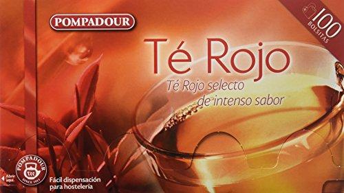 Pompadour Té Rojo - 100 bolsitas -...